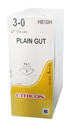 Ethicon Sutures. Plain Gut. H810H