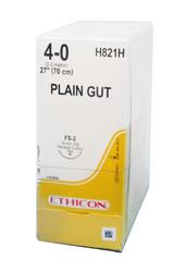 Ethicon Sutures. Plain Gut. H821H