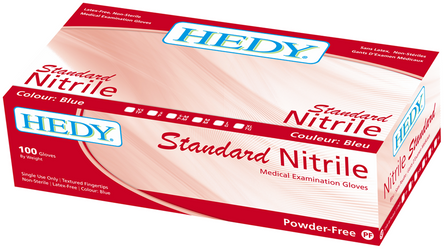 Gloves Nitrile Powder Free - 100/Box