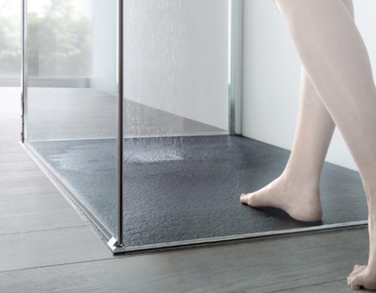 Trendy Stone-like Shower Base