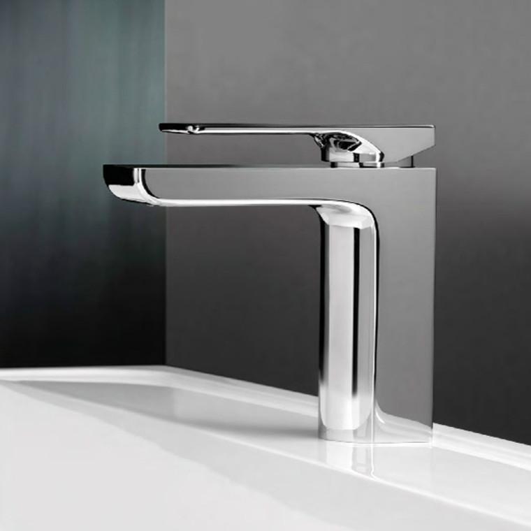 Gloss Basin Mixer - Chrome