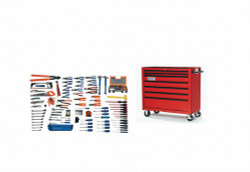 Williams Electrical Maintenance Service Set With Tool Box - 167 Pieces WSC-167TB