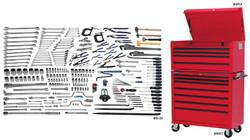 Williams 265 Oilfield Tool Set SAE & Metric Tools With Storage - JHWOILFIELDTB