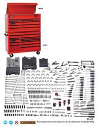 Williams 597 Pcs Monster SAE & Metric Tool Set With Storage - JHWMONSTERTB