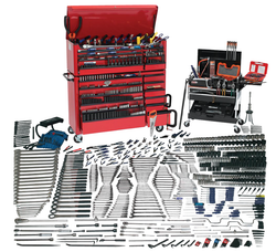 Williams 911 Pieces Mammoth Tool Set with Fractional Wrenches and Sockets Tools Only WSC-1390SAE