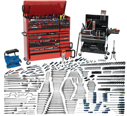 Bahco Williams 956 Pcs Mega Tool Set SAE & Metric Tools Only - JHWMEGA