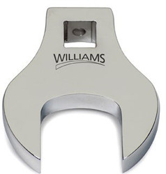 """1 11/16"""" Williams 3/8"""" Drive Crowfoot Wrench Open End"""