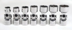 "3/8 - 3/4"" Williams 3/8"" Dr Universal Socket Set 7 Pcs - 31938"