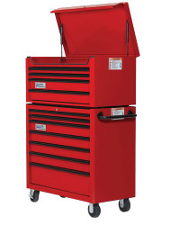"40"" Williams Top Chest - 4 Drawer - Red W40TC4"