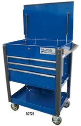 """30"""" Williams Service Cart Heavy Duty Industrial Cart - 4 Drawer 50726"""