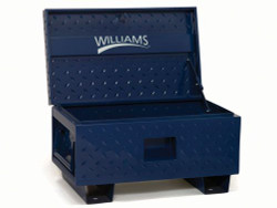 "48"" W x 24"" D x 27.5"" H Williams Job Site Boxes - Blue Only 50952"