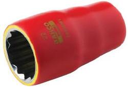"""7/16"""" Bahco 3/8"""" Drive 1000V Safety Socket - 7400DZV-7/16"""