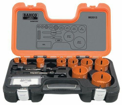Bahco Professional Holesaw Set 13 Pieces - 862013