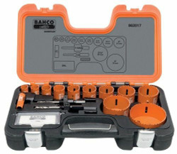 Bahco Professional Holesaw Set 17 Pieces - 862017
