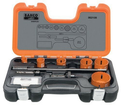 Bahco Electricians Holesaw Set 9 Pieces - 862109