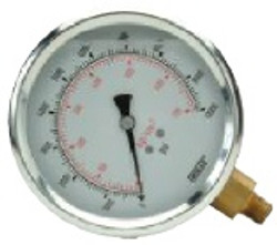 "Williams 2 1/2"" Face Diameter Liq Gauge - 8G025W"