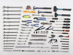 Bahco Tools at Height General Service Set Complete 116 Piece - WSC-116-THTB