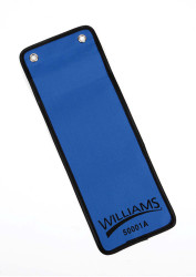 "4 1/2"" Williams Vinyl Zip-Lock Pouch 50001A"