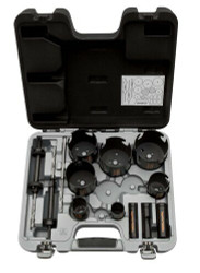Bahco Superior Holesaw Set 13 Pcs - 3833-SET-201