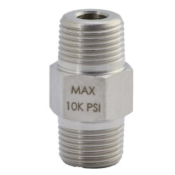 """Williams Male Connector - Male 1/4""""-18NPTF-Male 3/8""""-18NPTF - 8FN25M38M"""