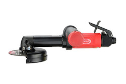 Sioux Tools SCOS1AX124 Angle Metal Body Extended Cut-off Tool | 1 HP | 12000 RPM | Front Exhaust