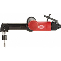 Sioux Tools SAGS1AX12M6G Right Angle Extended Metal Body Die Grinder | 1 HP | 12000 RPM | Front Exhaust