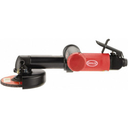 Sioux Tools SWGS1AX124 Right Angle Type 27 Extended Wheel Grinder   1 HP   12000 RPM   Front Exhaust