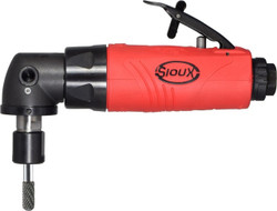 Sioux Tools SAG05S18M6 Right Angle Die Grinder   0.5 HP   18000 RPM   200 Series Collet   Rear Exhaust