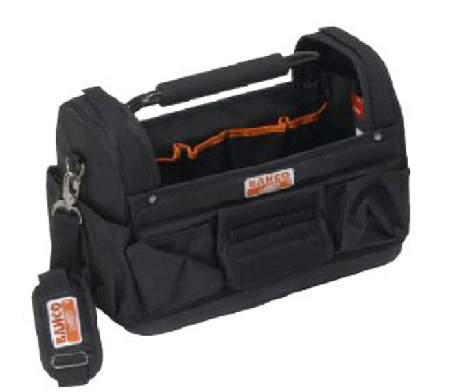 "17"" Bahco Tool Bag - Hard Side Open Top 3100TB"