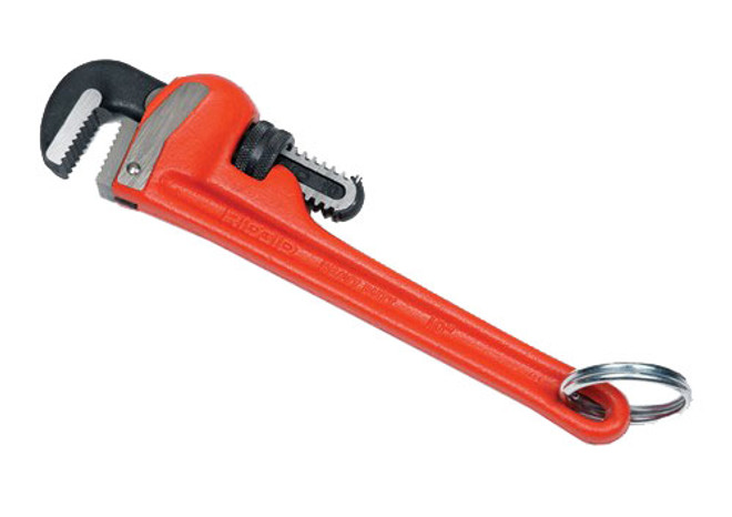 "12"" Ridgid Tools At Height Pipe Wrench - Cast Iron R31015-TH"