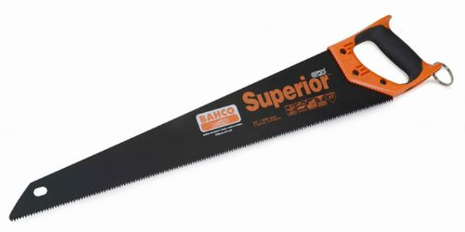 """24"""" Bahco Superior Handsaws with XT Toothing - 1.24 Lbs 2700-24-XT7-HP-TH"""