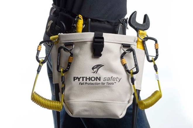 Python Utility D-Ring inside pouch - Utility Pouch - PCH-UTILITY