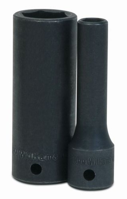 "23mm 6Pt Impact Deep 3//8/""Drive Supertorque Black Industrial USA Socket 12M-623"