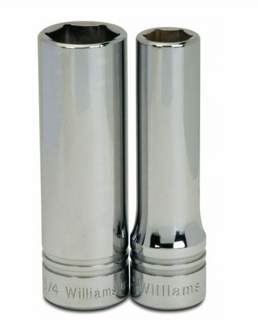 7//16-Inch 6 Point Williams 4-614 1//2 Drive Shallow Impact Socket