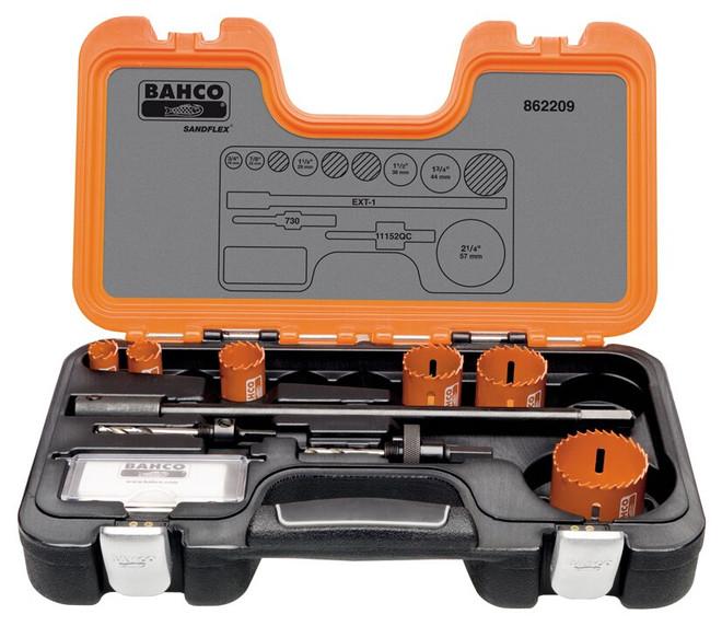 Bahco Plumbers Holesaw Set 9 Pieces - 862209