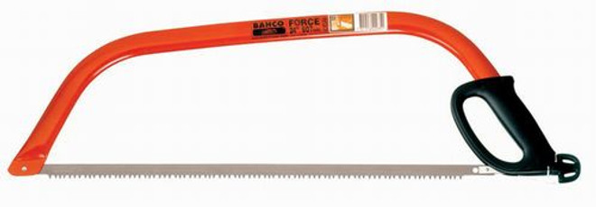 """24"""" Bahco Bow Saw Ergo - Dry Wood and Lumber - 10-24-51"""