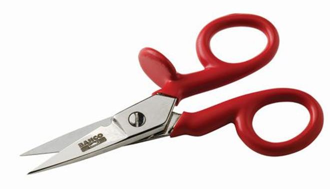 """5"""" Bahco 1000V Electrician Scissors - SC127V"""