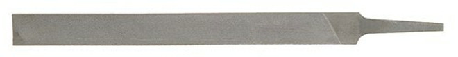 """8"""" Bahco Mill Two Flat Edge Hand File without Handle - Second Cut - 1-100-08-2-0"""