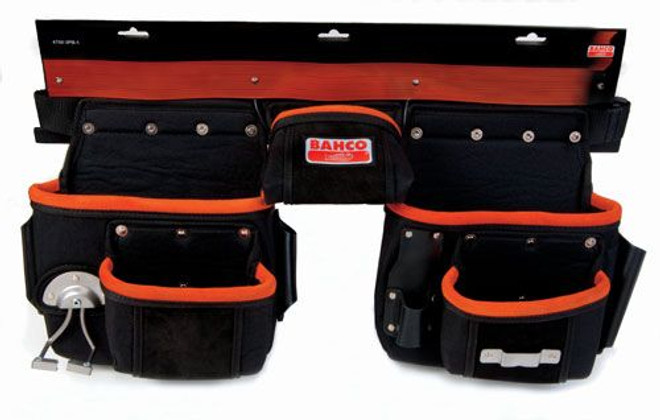 "27"" x 10"" Bahco Three Pouch Belt Set - 4750-3PB-1"