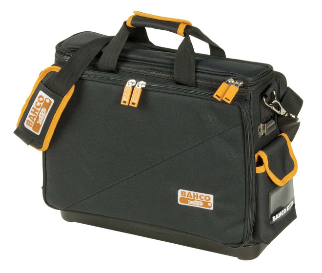 """17"""" Bahco Laptop and Tool Bag with Hard Bottom - 4750FB4-18"""