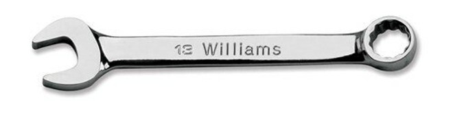 "15"" Williams Chrome Short Combination Wrench 12 Pt - 1215M"