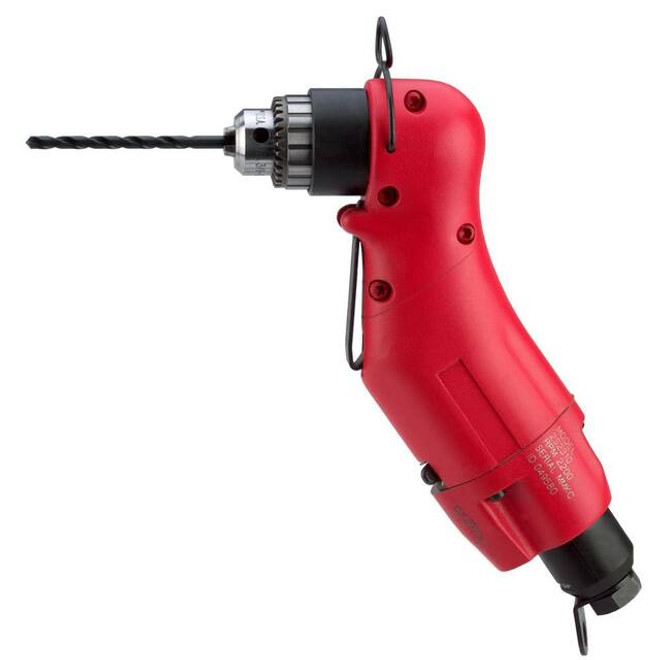 """Sioux Tools 2S2310 Reversible Z-Handle Drill   0.33 HP   2200 RPM   3/8""""-24 Spindle Thread"""
