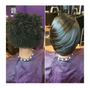 Salon services starting at $40. Feel free to call the salon Wed-Sat from 11am to 7pm to get prices on a specific service.