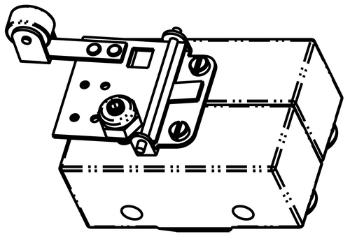 Drawing of limit switch