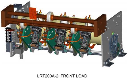 3D model showing front load LRT200-2 version