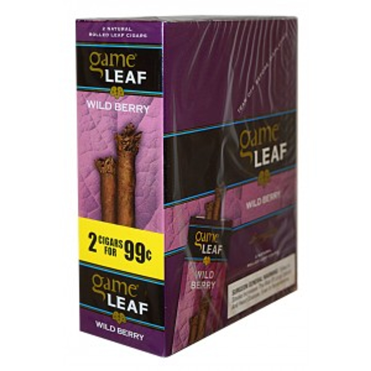 Game Leaf Cigars Wild Berry 152
