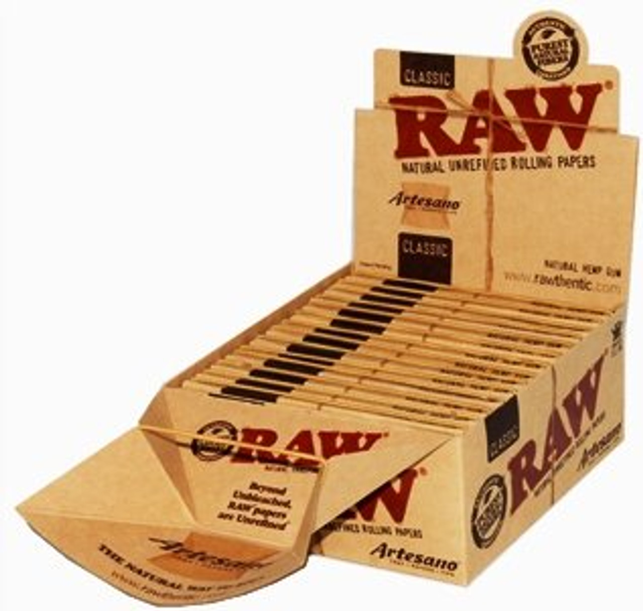 RAW Classic Artesano Kingsize Slim Box of 15 Packs