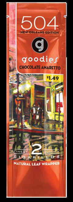 Goodies Natural Leaf Cigarillos Chocolate Amaretto