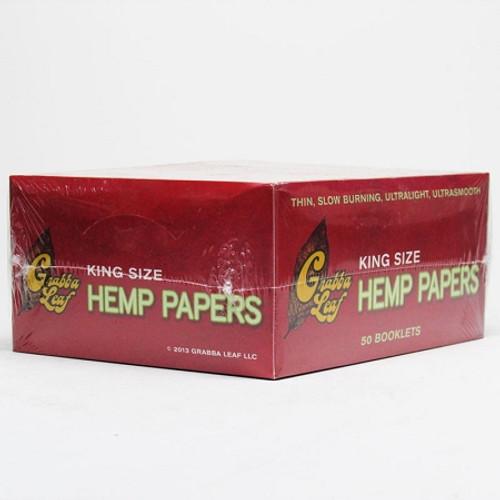 Grabba leaf King Size Hemp Papers