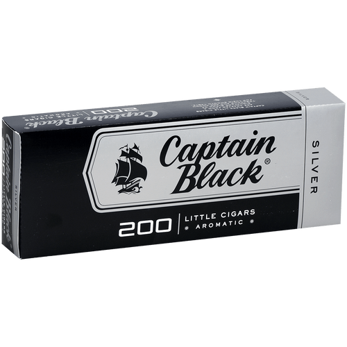 Captain Black Little Cigars Silver